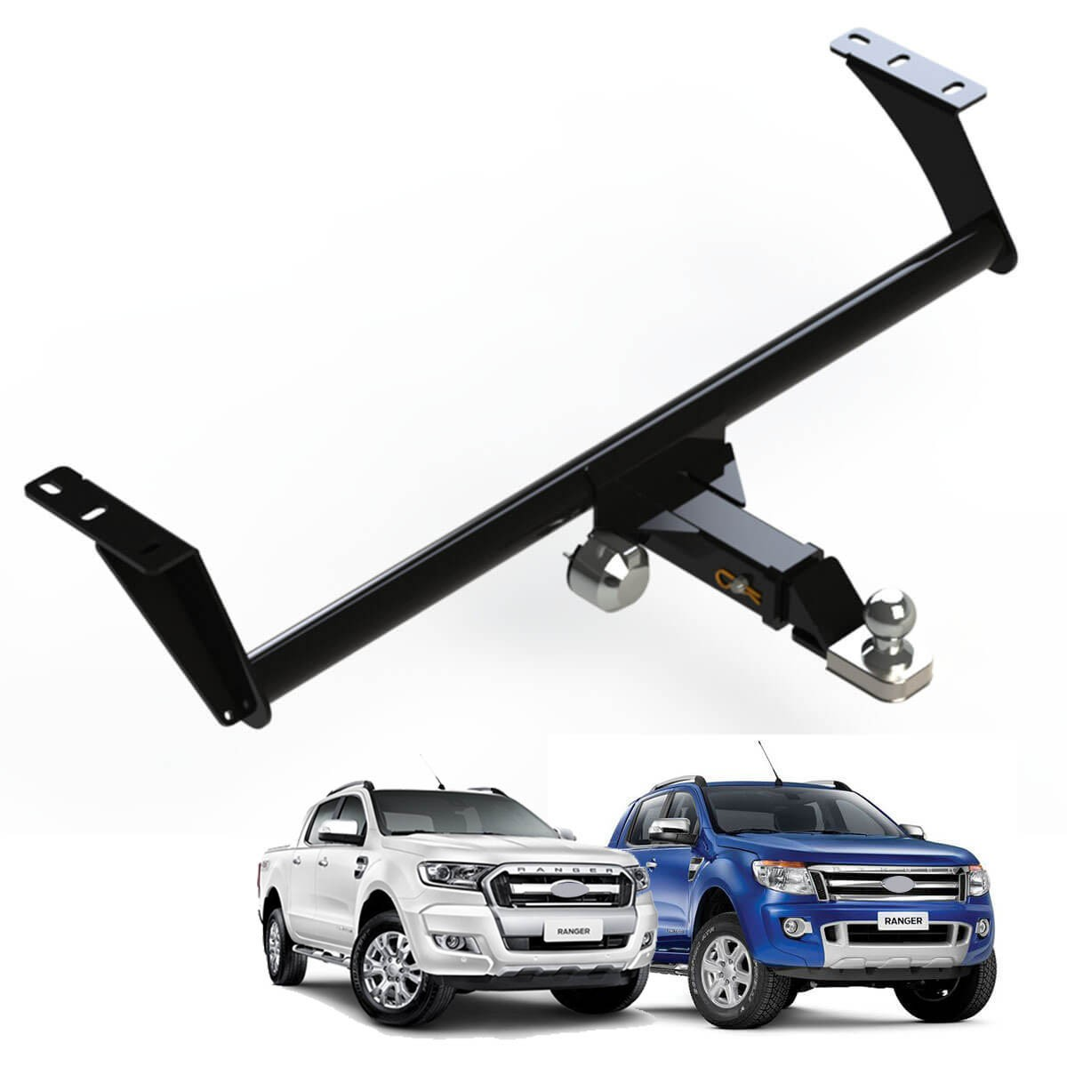 Engate de reboque Nova Ranger 2013 a 2018 removível 1500 Kg