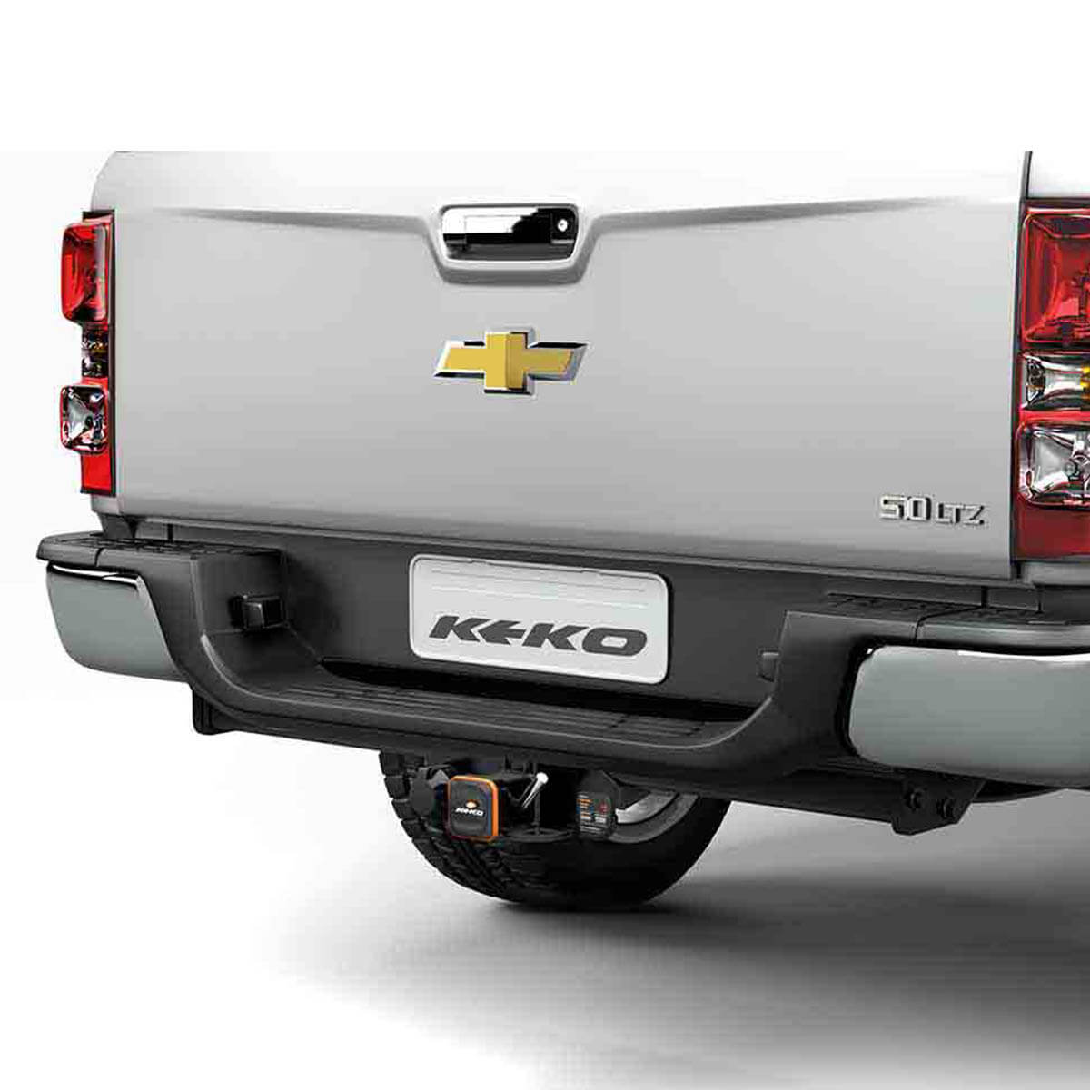Engate de reboque Nova S10 2012 a 2017 Keko K1 removível 1500 kg
