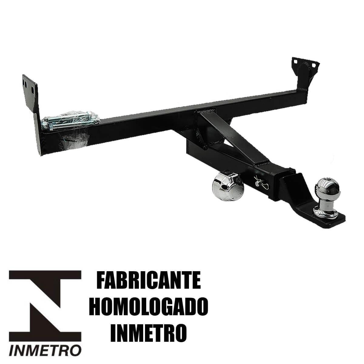 Engate de reboque Pajero TR4 2010 a 2015 removível 1000 Kg