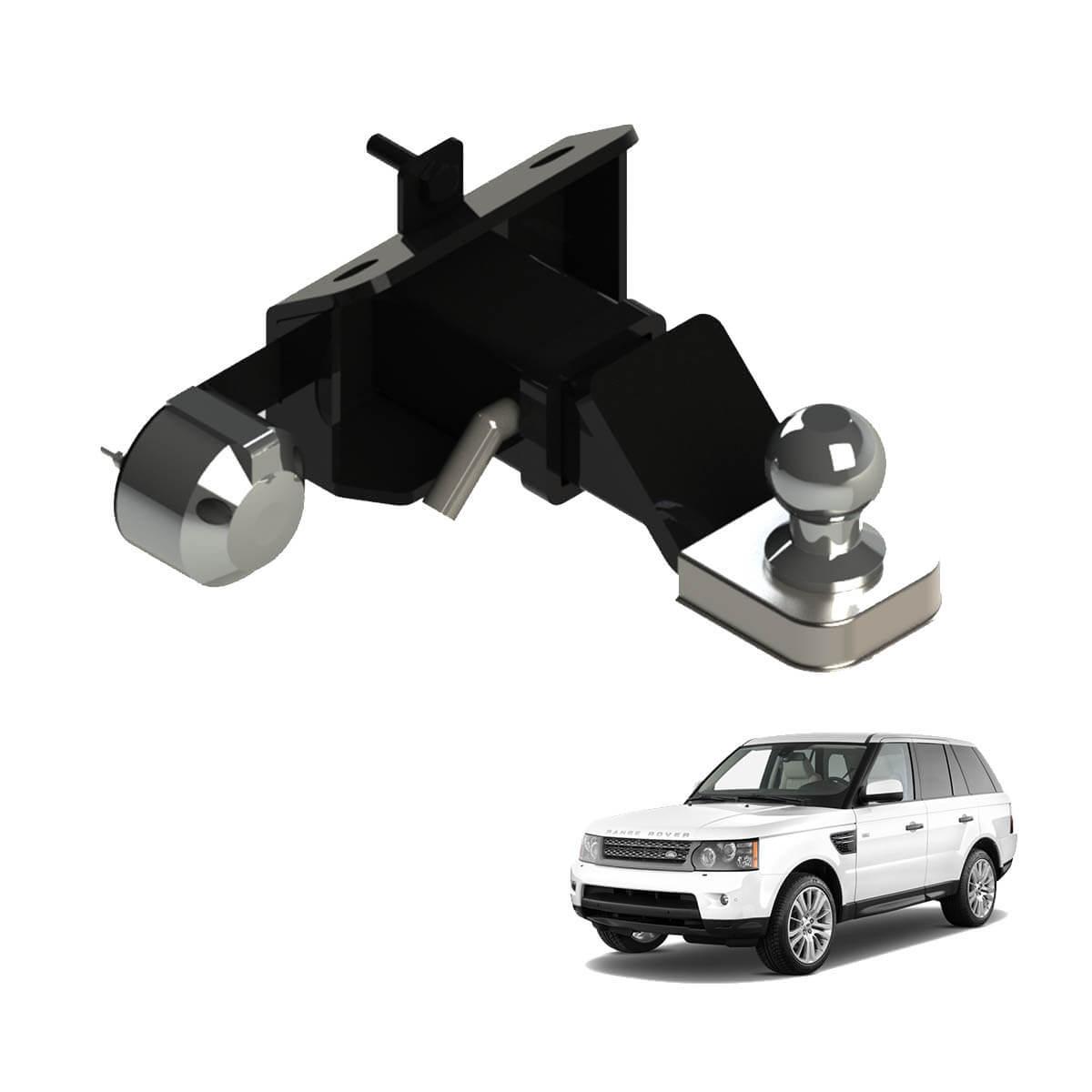 Engate de reboque Range Rover Sport 2006 a 2013 removível 1000 Kg
