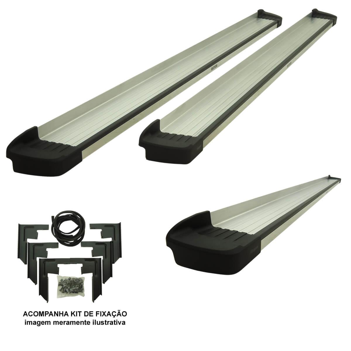 Estribo Bepo G3 alumínio L200 Triton 2008 a 2017