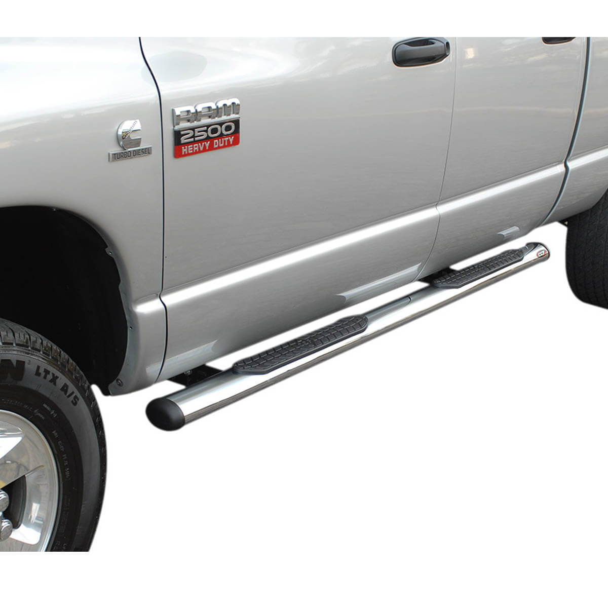 Estribo oval cromado Dodge Ram cabine dupla 2005 a 2011