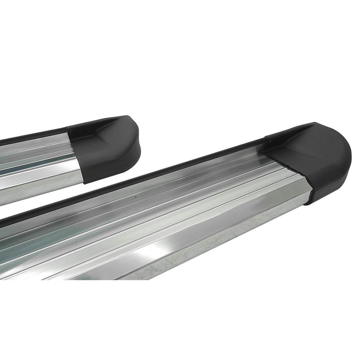 Estribo plataforma alumínio Frontier 2008 a 2016