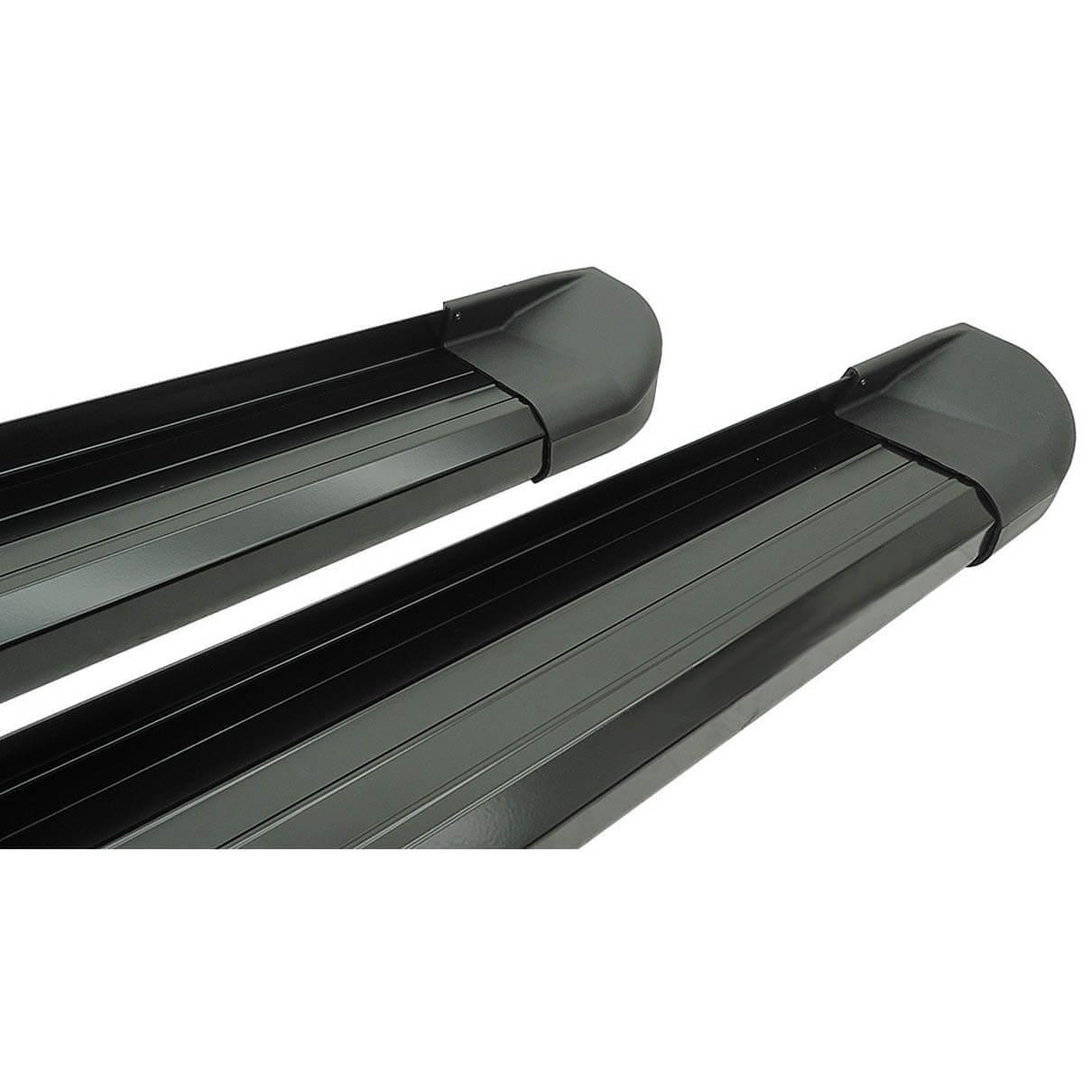 Estribo plataforma alumínio preto IX35 2011 a 2018