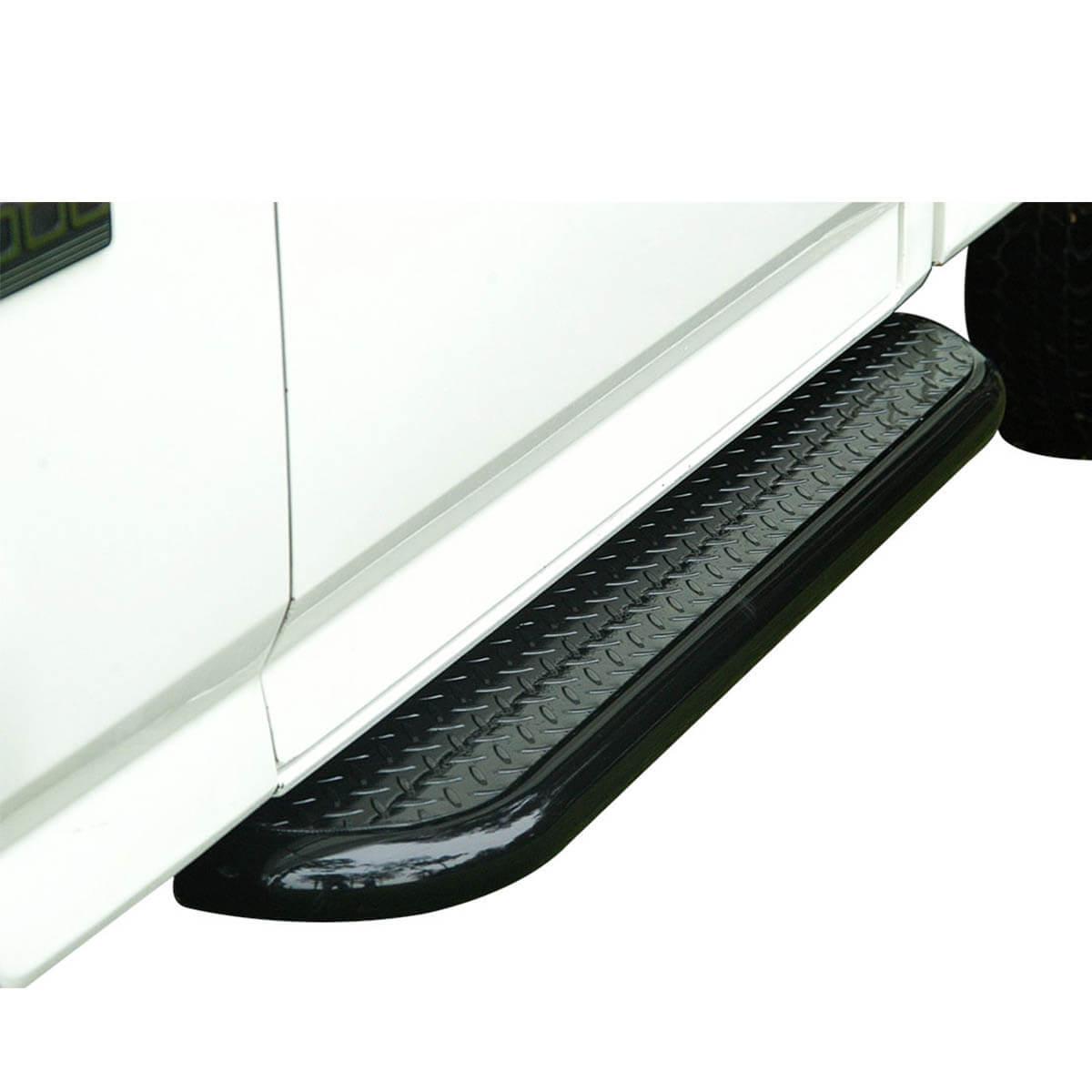 Estribo plataforma preto S10 cabine simples 1995 a 2011