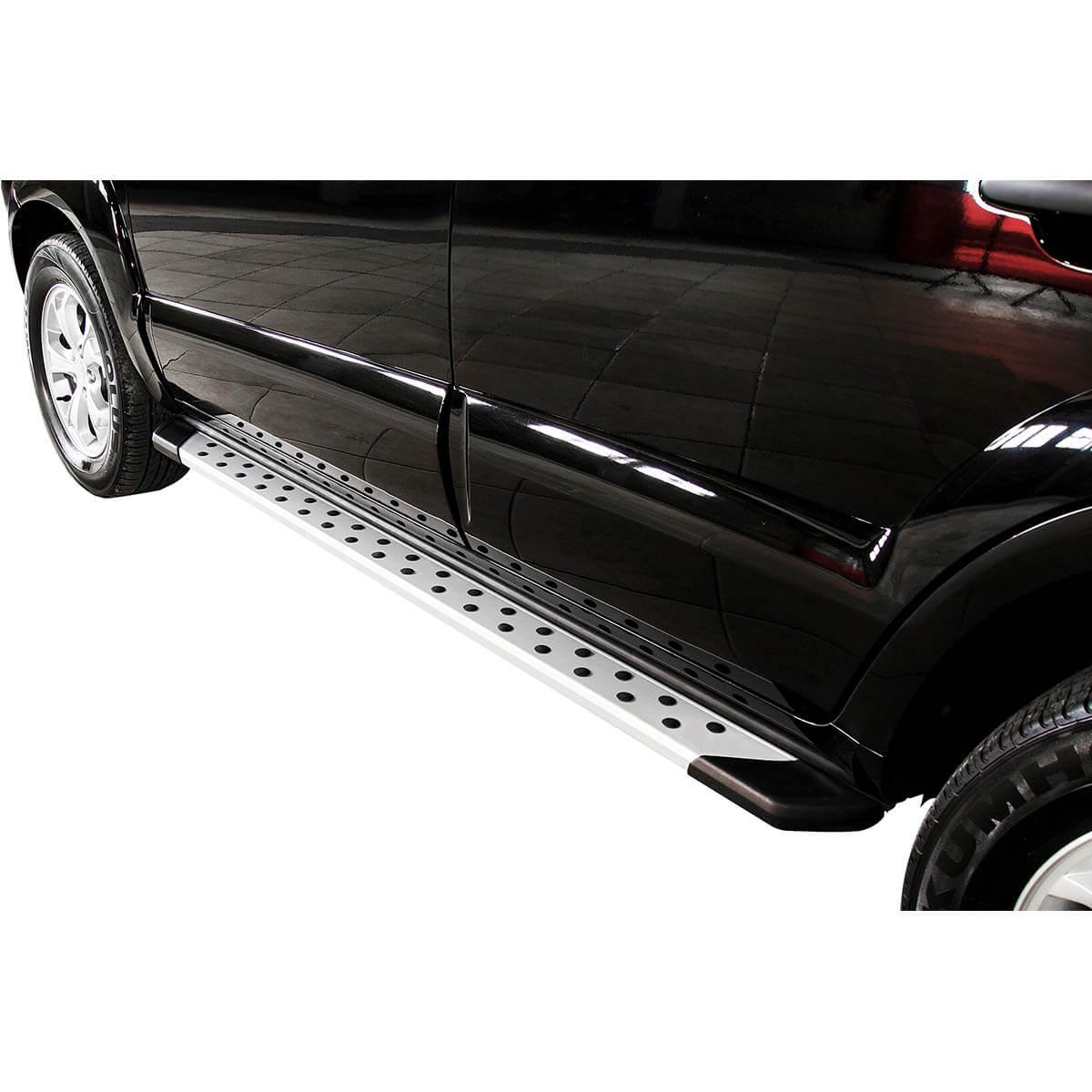 Estribo SUV Bepo alumínio polido Duster 2012 a 2017