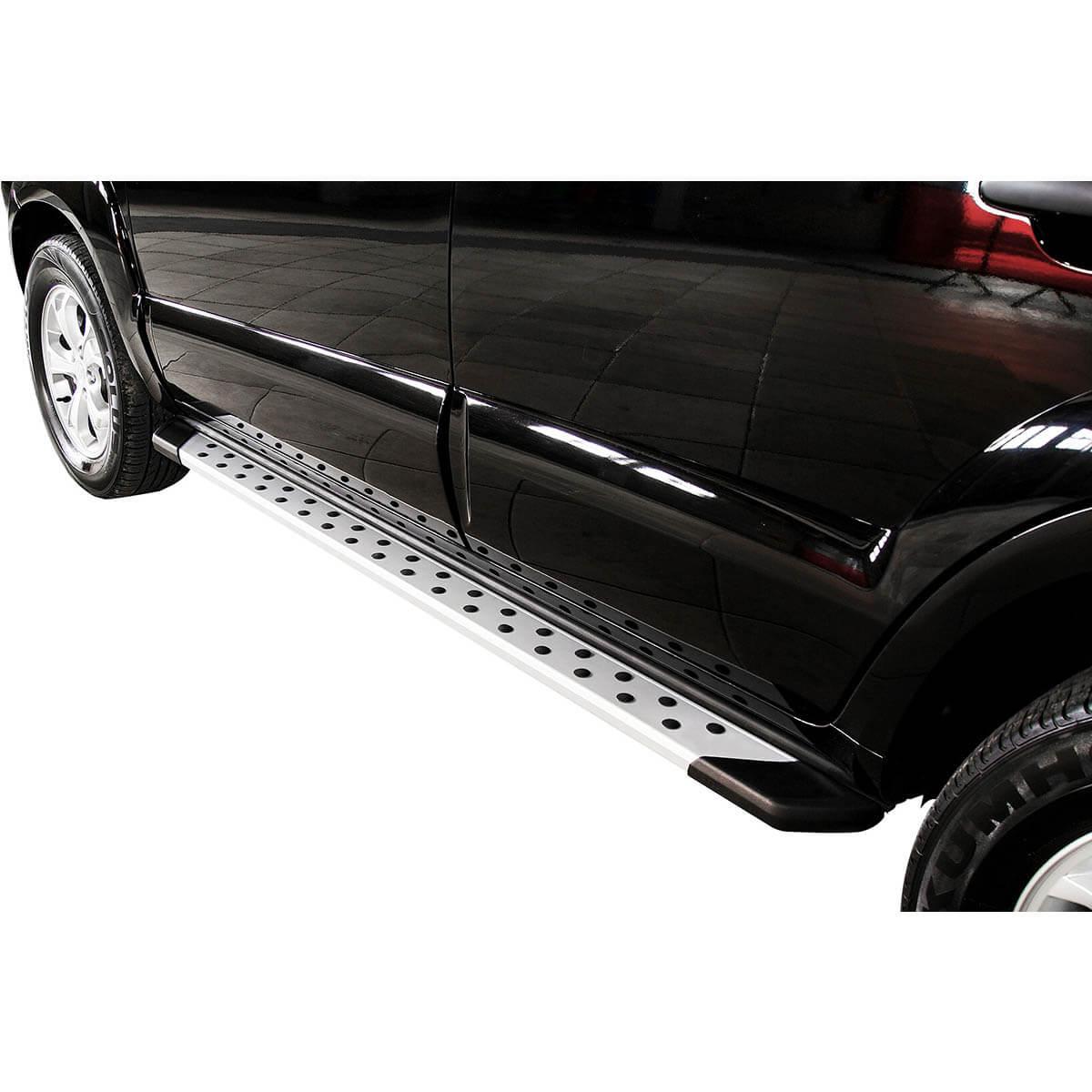 Estribo SUV Bepo alumínio polido Tucson 2005 a 2017