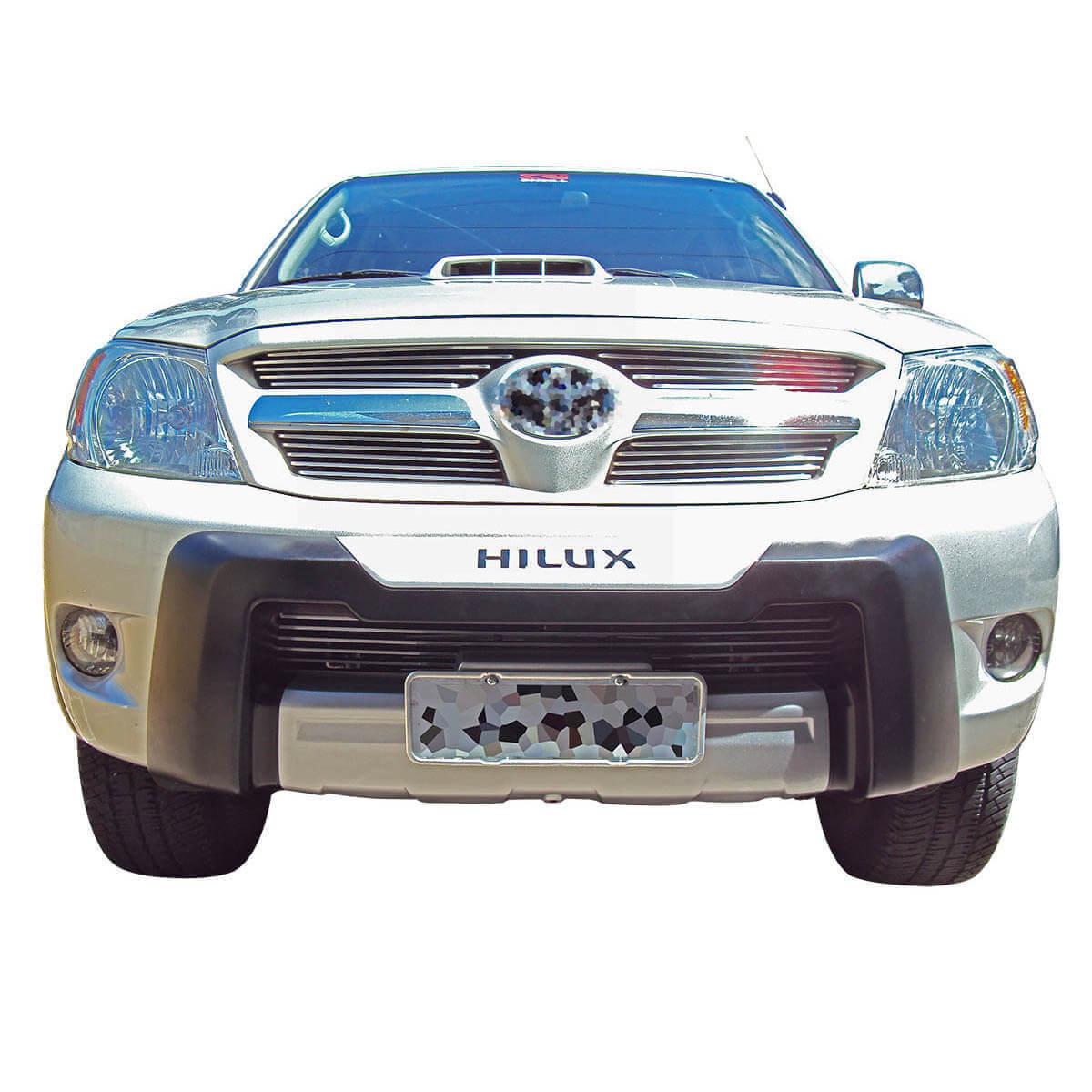 Overbumper protetor frontal Hilux 2005 a 2008