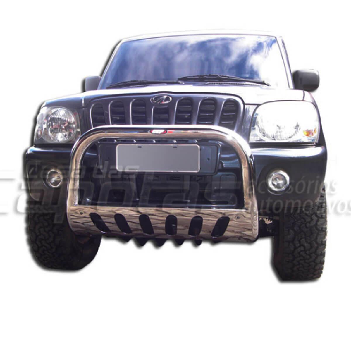 Parachoque impulsão Mahindra pick up ou SUV 2008 a 2014