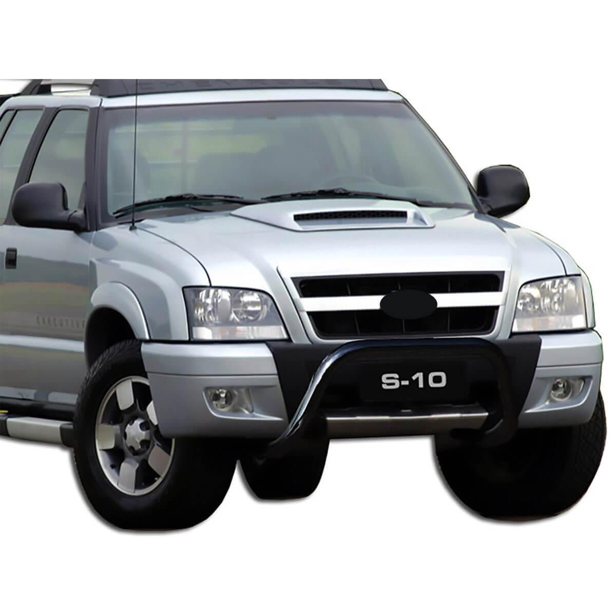 Parachoque impulsão preto Blazer ou S10 2001 a 2011