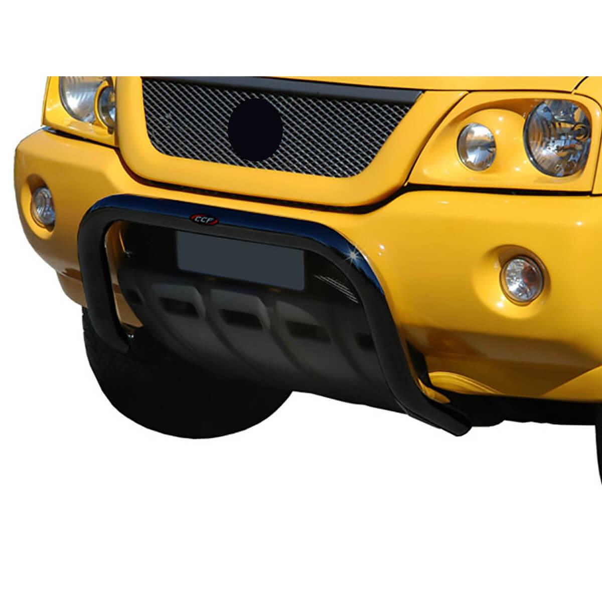 Parachoque impulsão preto L200 Sport 2004 a 2007 ou L200 Outdoor 2007 a 2012