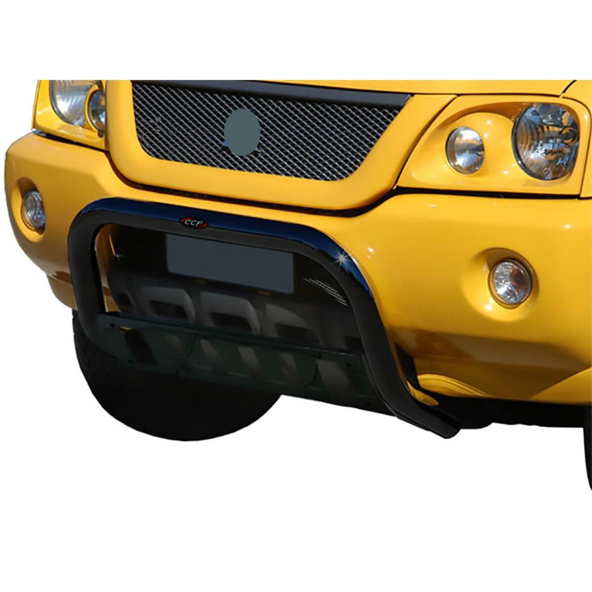 Parachoque impulsão quebra mato preto L200 Sport 2004 a 2007 ou L200 Outdoor 2007 a 2012