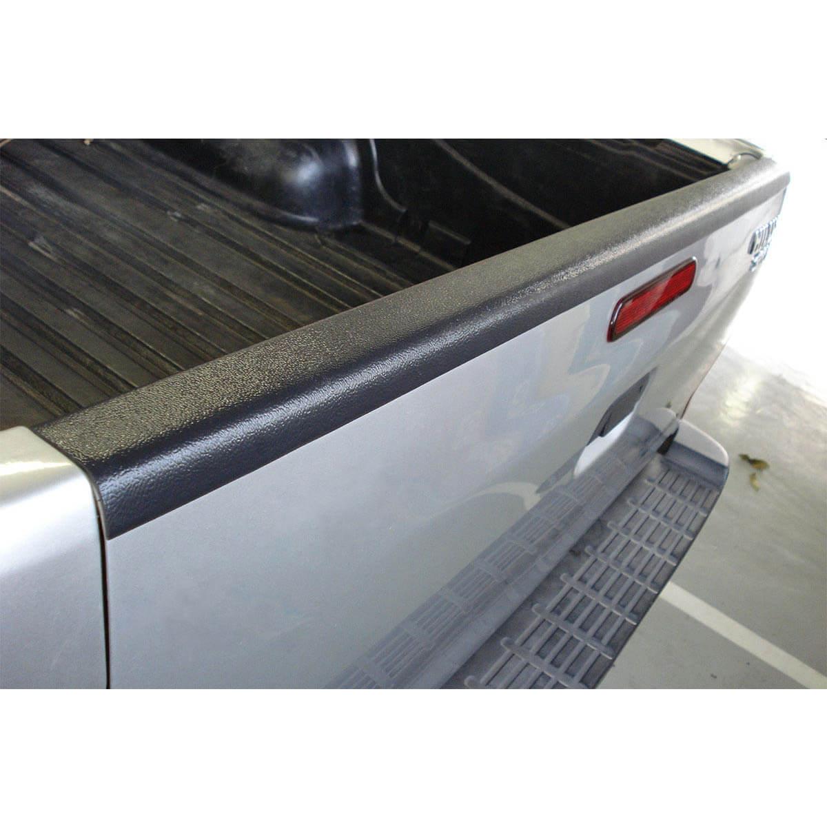 Protetor borda tampa caçamba L200 Triton 2012 a 2018 XB, GL, GLS, GLX e Outdoor MT Diesel