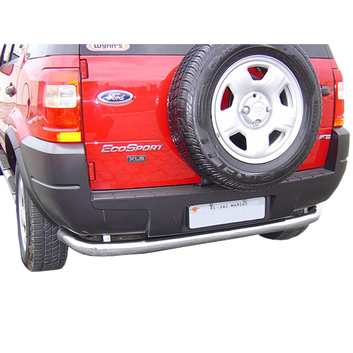 Protetor de para choque traseiro Ecosport 2003 a 2012