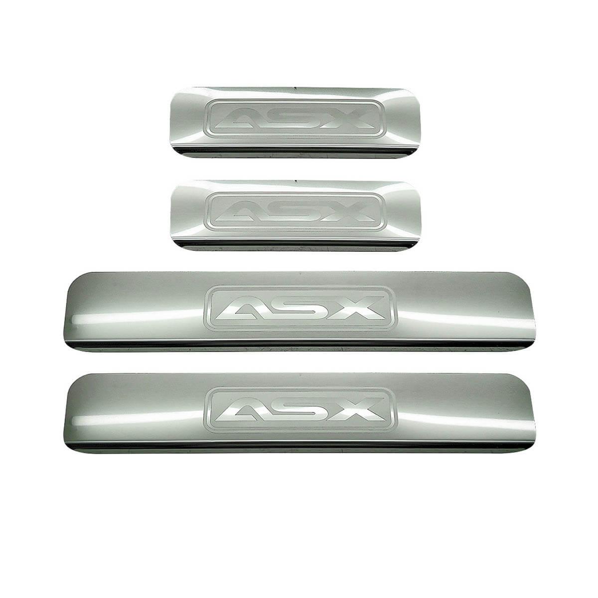 Protetor de soleira aço inox ASX 2011 a 2017