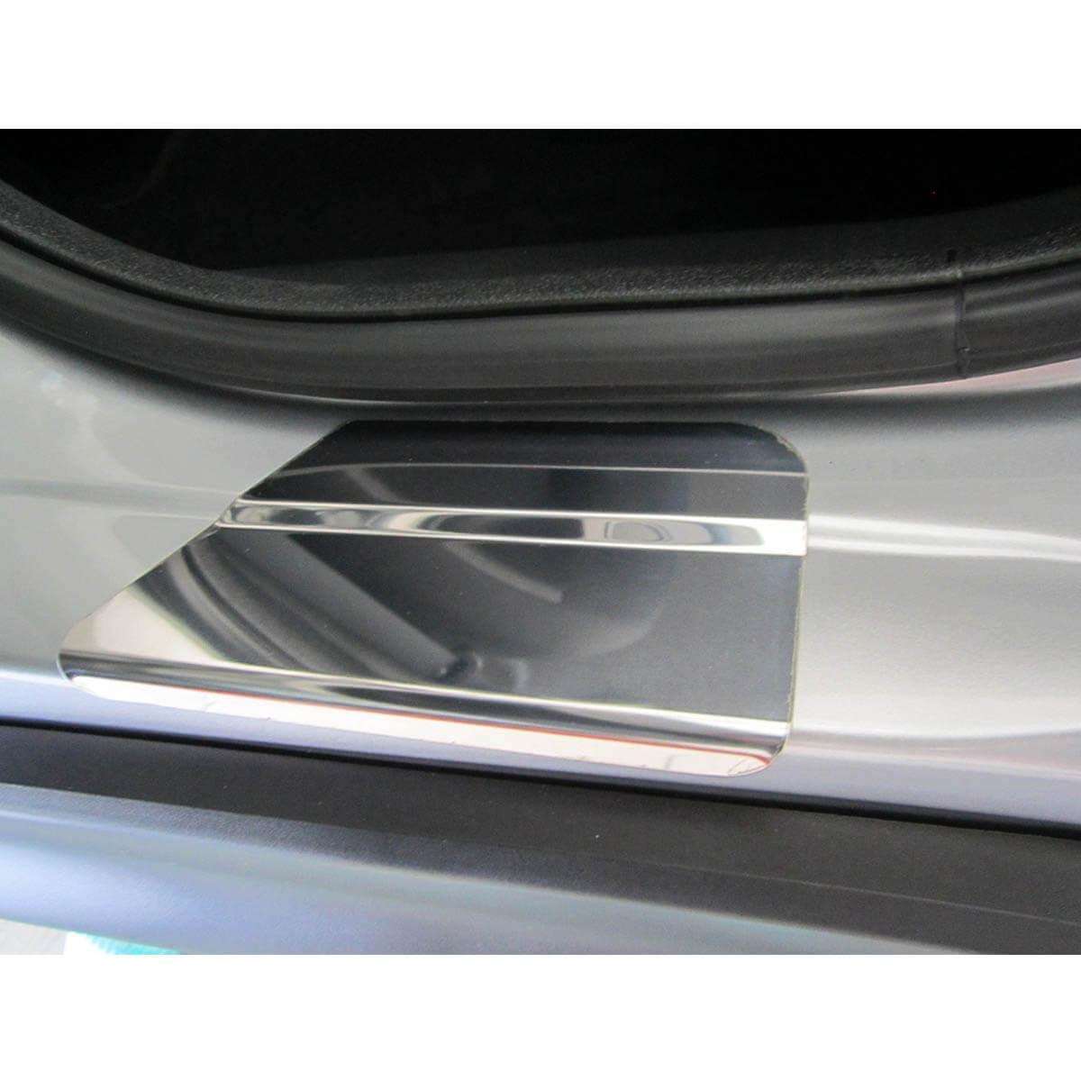Protetor de soleira aço inox HRV 2016 2017