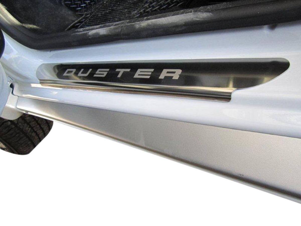 Protetor de soleira aço inox Duster 2012 a 2017