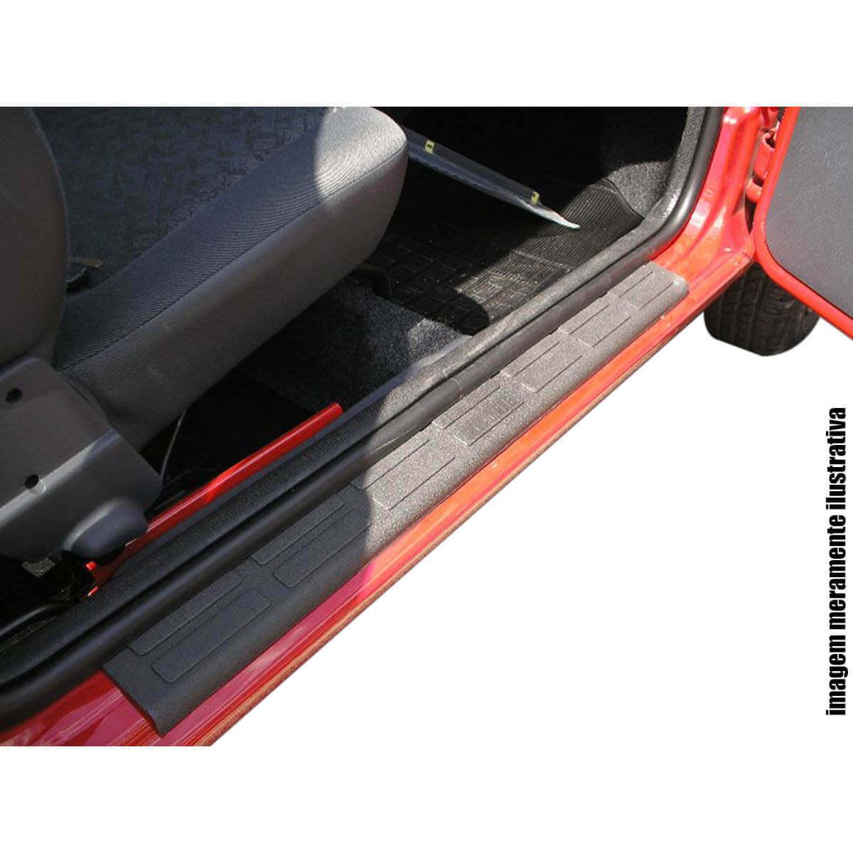 Protetor de soleira Nova S10 cabine dupla 2012 a 2018