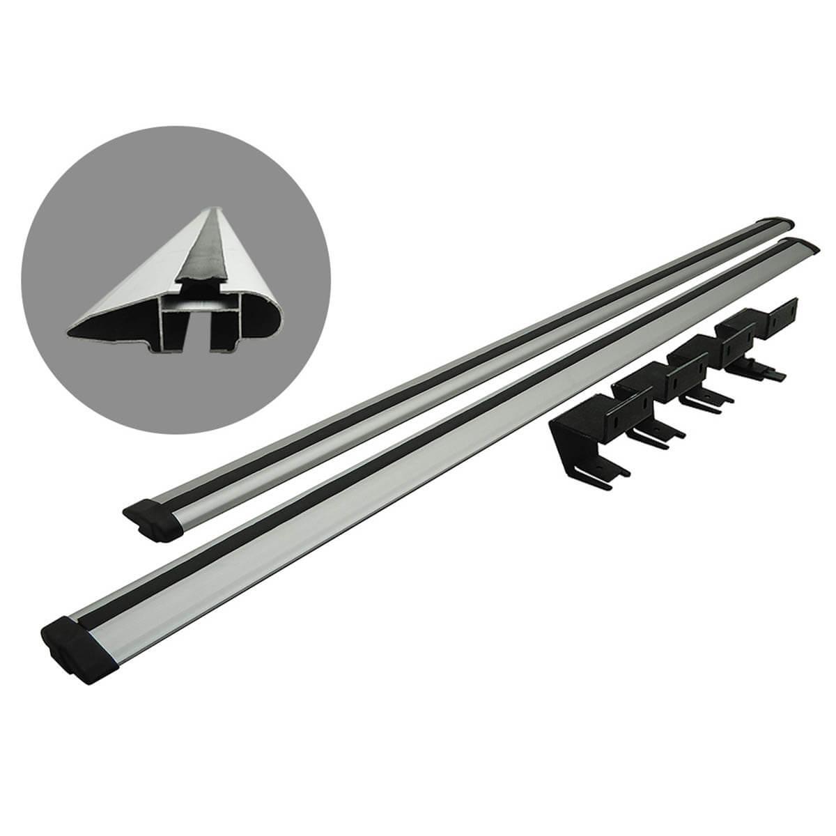 Rack de caçamba em alumínio L200 Sport 2004 a 2007 ou L200 Outdoor 2007 a 2012