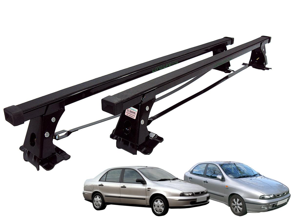 Rack de teto Brava 2000 a 2003 ou Marea 1998 a 2007 Long Life aço