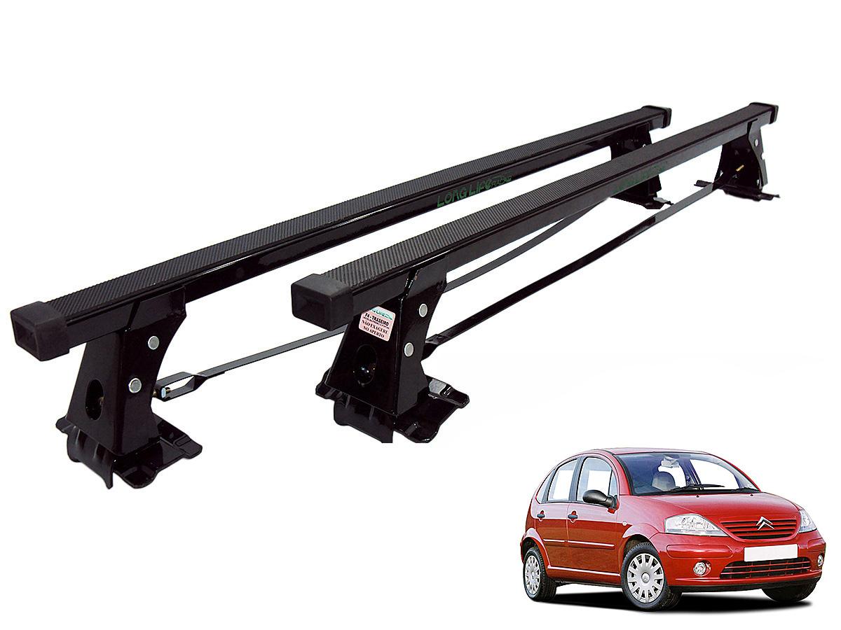 Rack de teto C3 2002 a 2012 Long Life aço