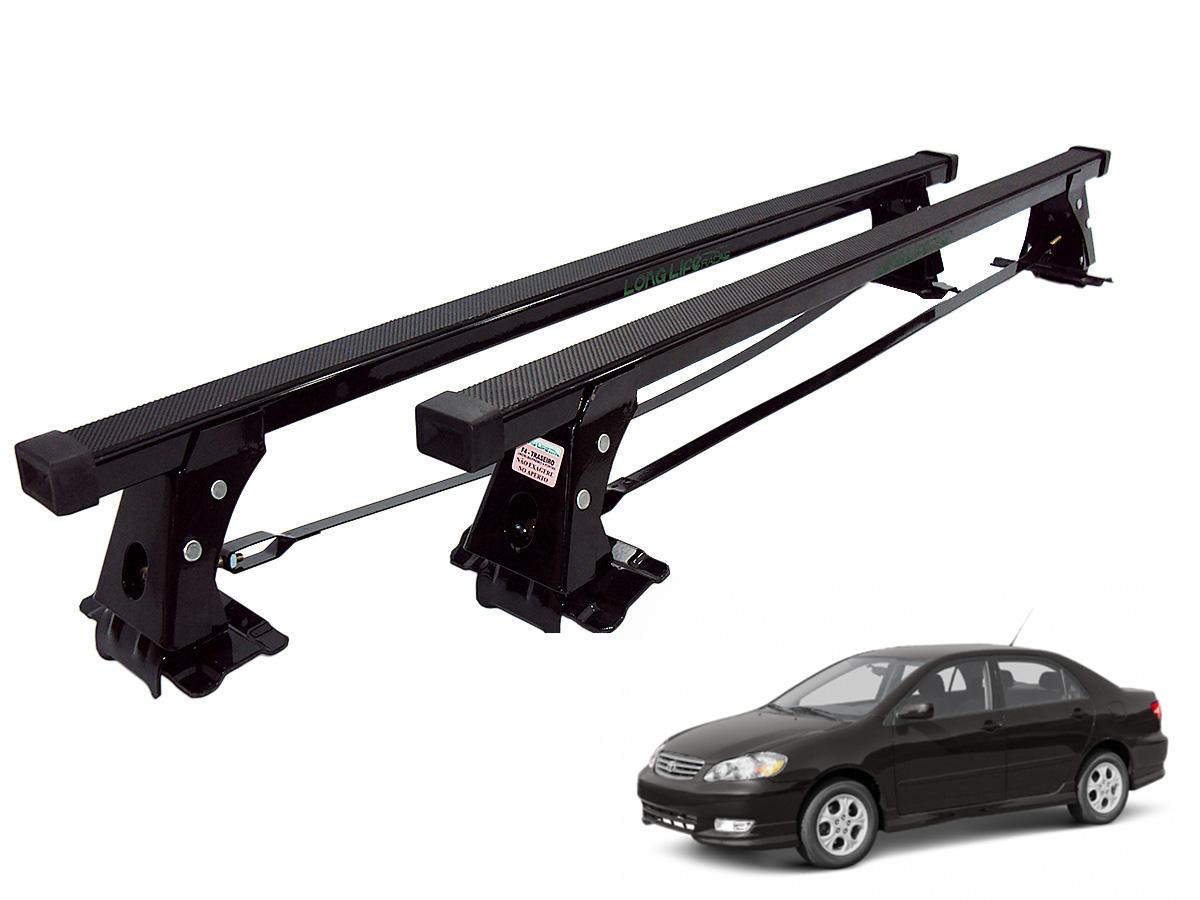 Rack de teto Corolla 2003 a 2008 Long Life aço