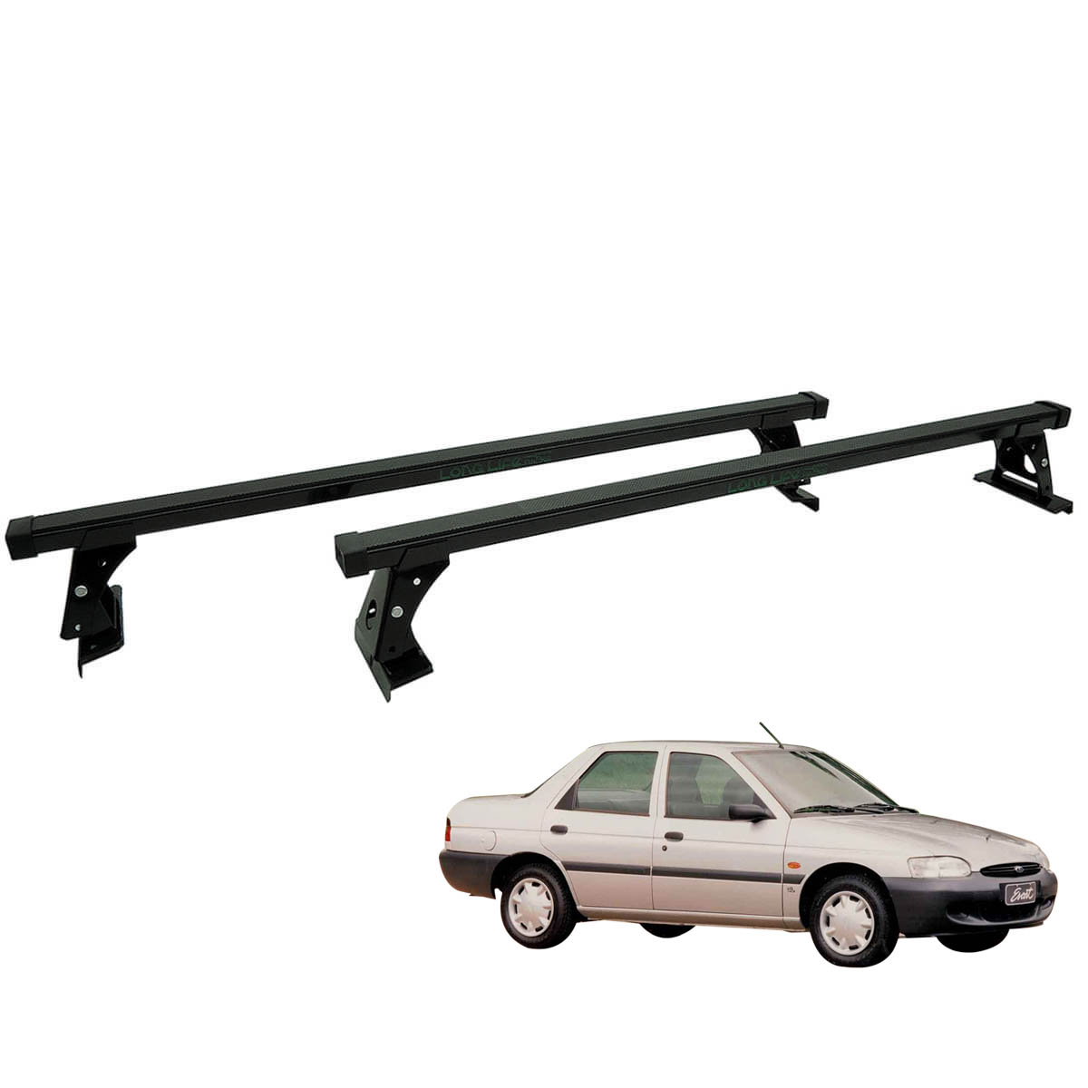 Rack de teto Escort, Pointer ou Verona 4 portas a partir de 1993 Long Life aço