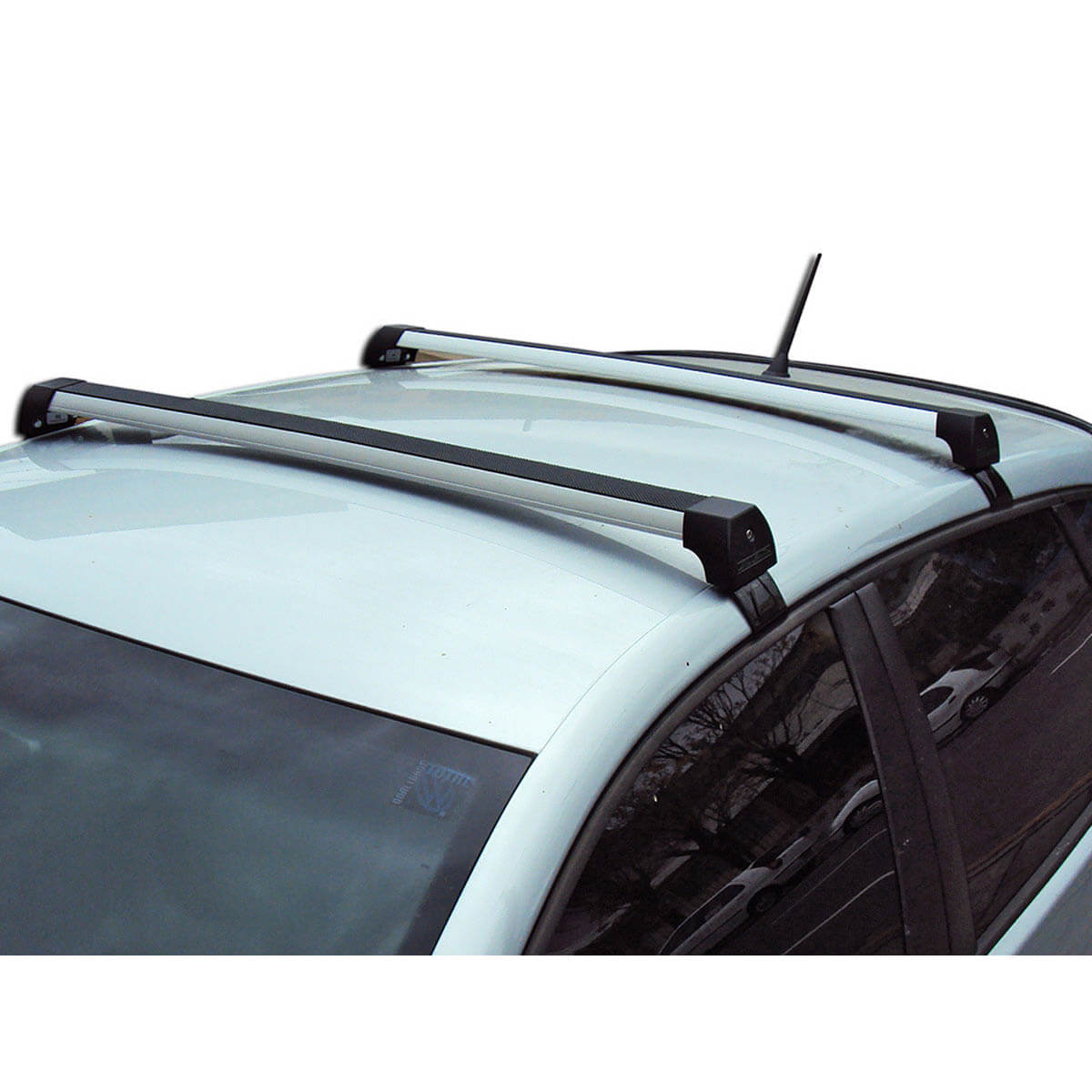 Rack de teto Fit 2009 a 2014 Long Life Sports anodizado