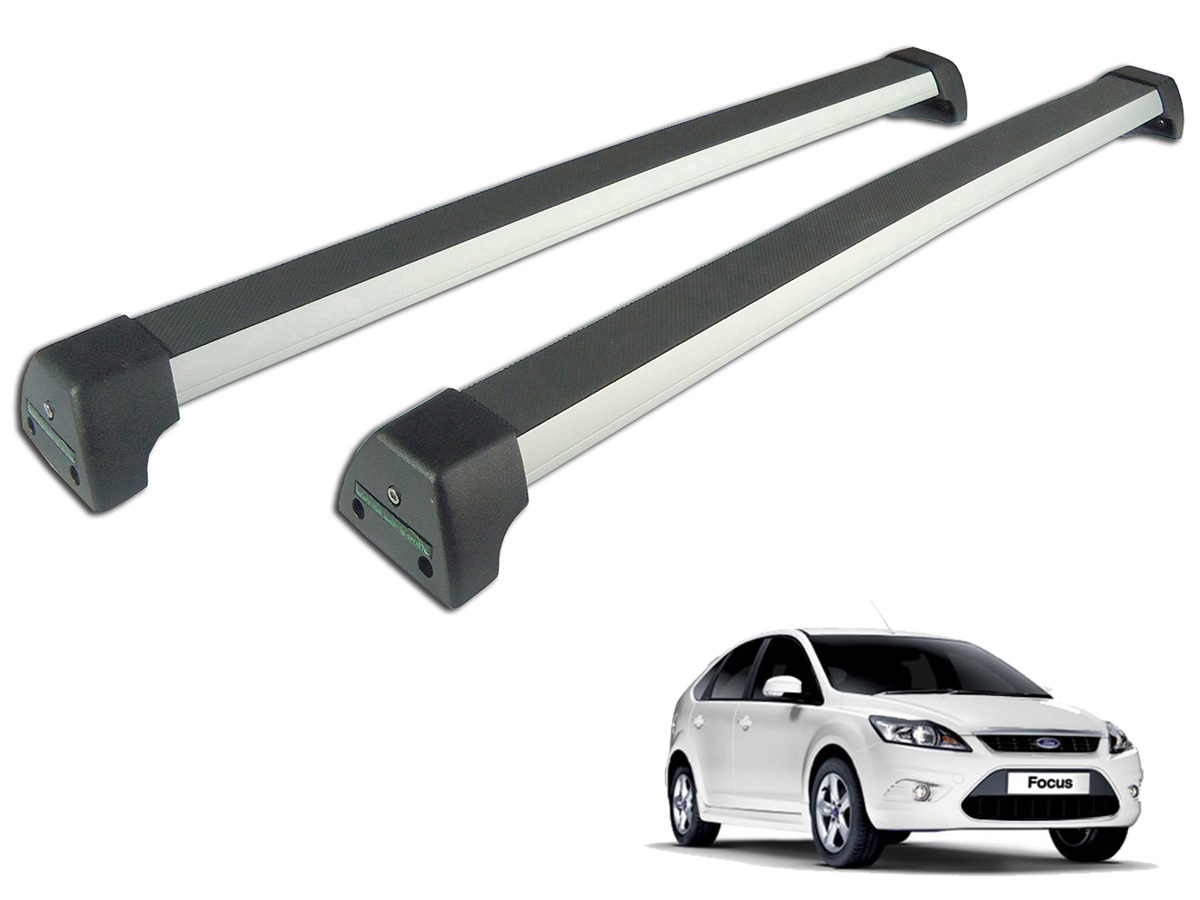 Rack de teto Focus 2009 a 2013 Long Life Sports anodizado