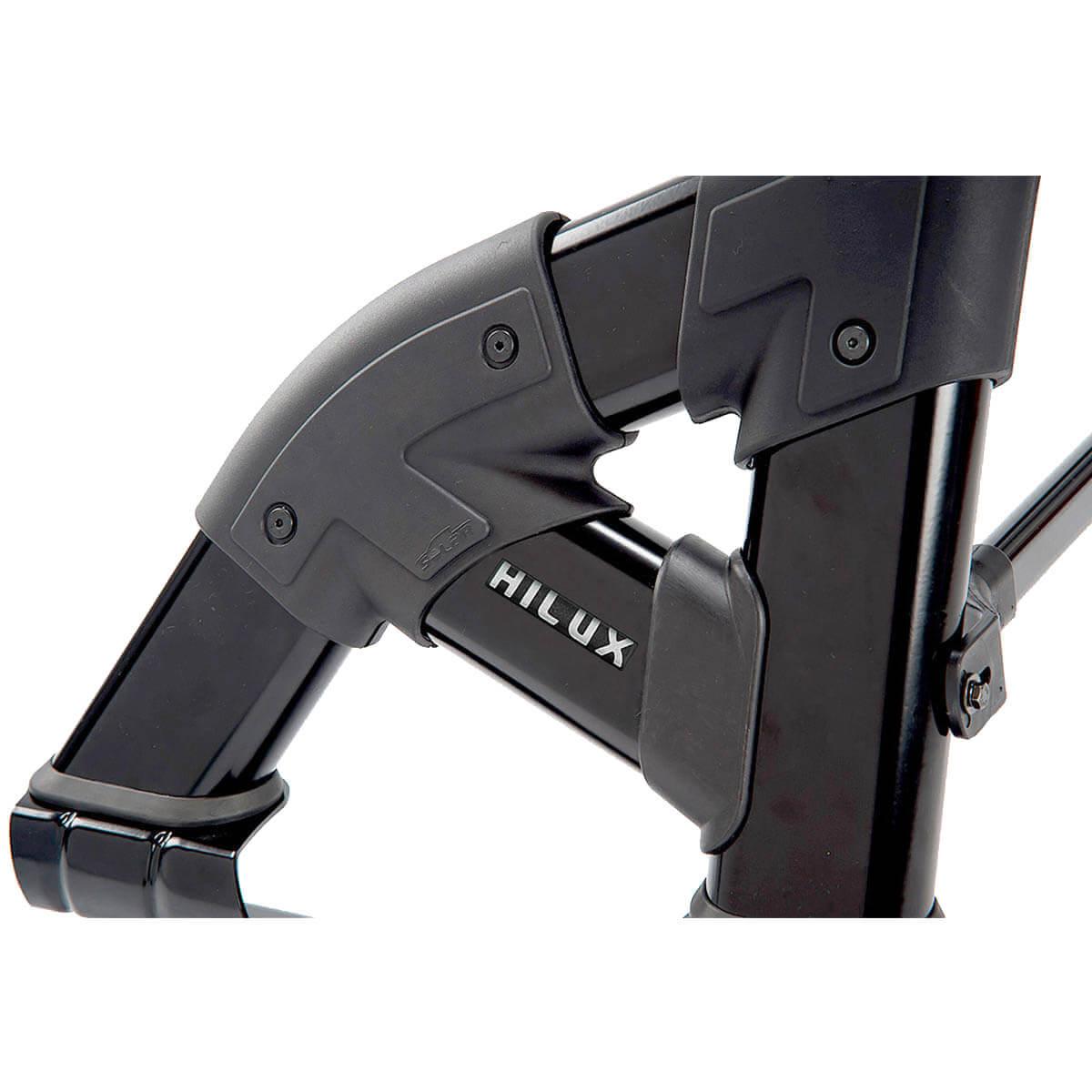 Santo antônio preto Solar Exclusive Hilux 2005 a 2015 com barra de vidro