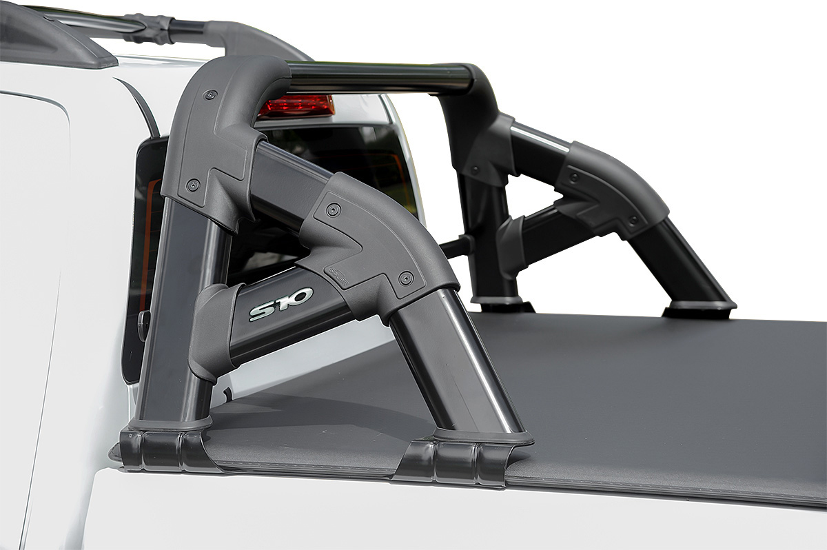 Santo antônio preto Solar Exclusive Nova S10 cabine dupla 2012 a 2017