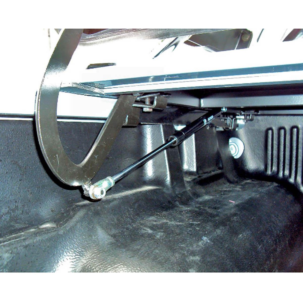 Tampão de aço capota elétrica Nova S10 cabine dupla 2012 a 2018