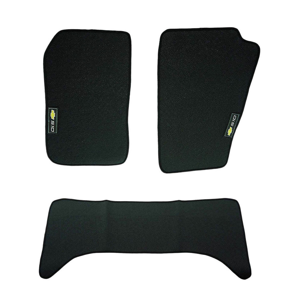Tapete personalizado em PVC Blazer 1996 a 2011 ou S10 cabine dupla 2001 a 2011