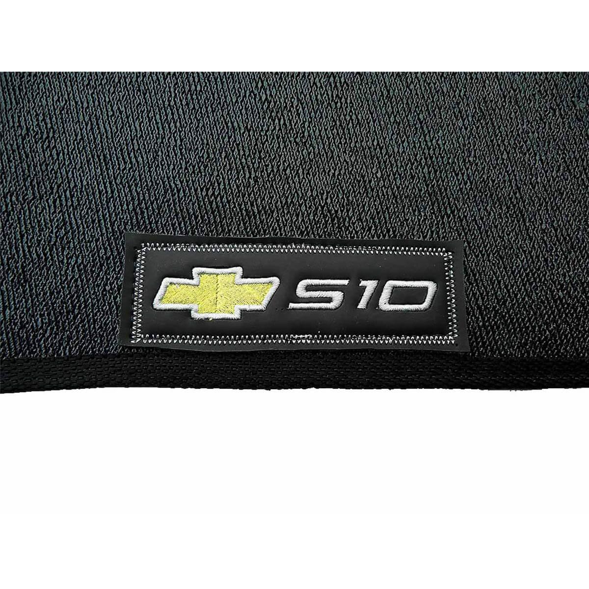 Tapete personalizado em PVC Nova S10 cabine dupla 2012 a 2018