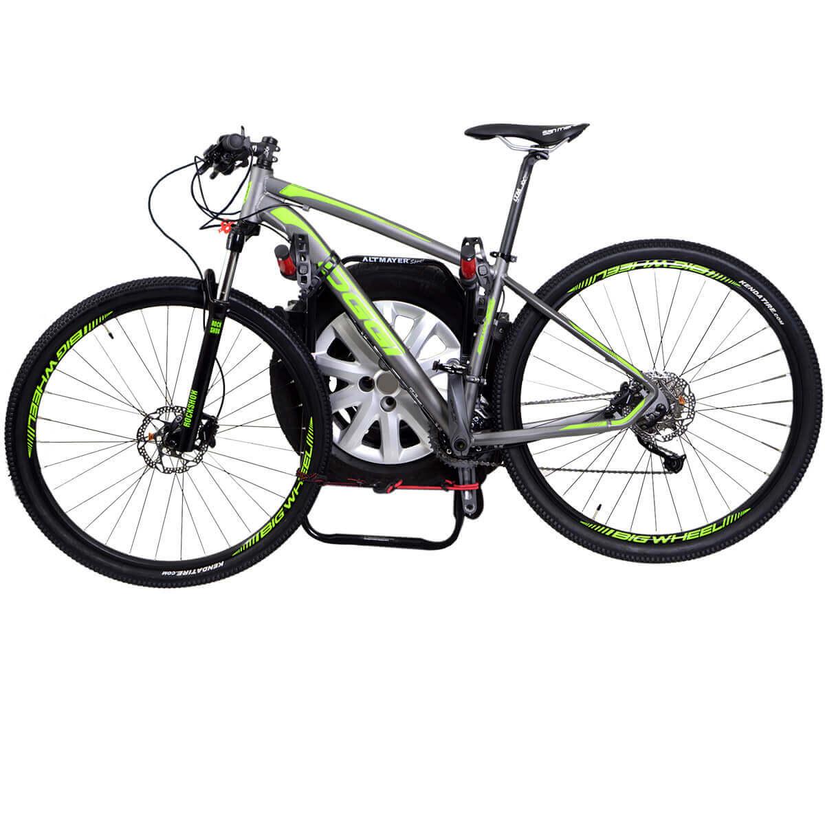 Transbike Pajero TR4 2003 a 2015 fixado no estepe para 2 bicicletas