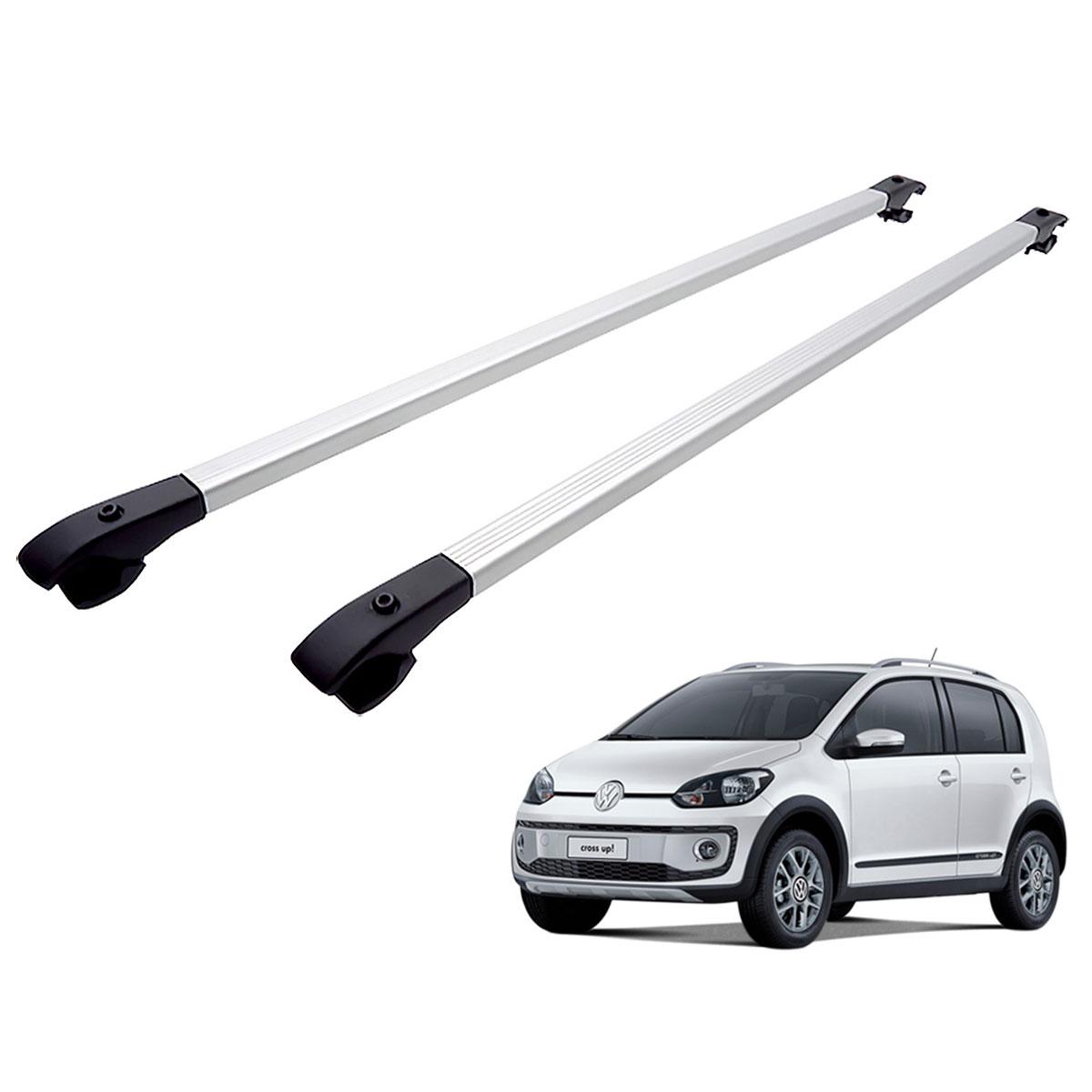 Travessa rack de teto alumínio UP! Cross VW up 2014 a 2017