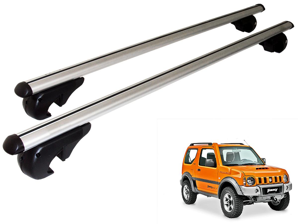 Travessa rack de teto Belluno Kiussi com chave Jimny 2012 a 2016
