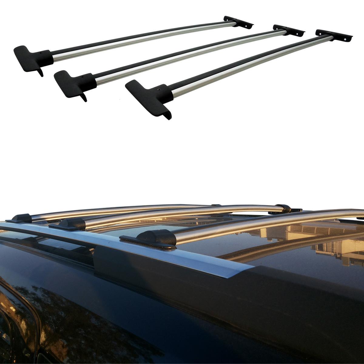 Travessa rack de teto Spin 2013 a 2017 fixação original kit 3 peças