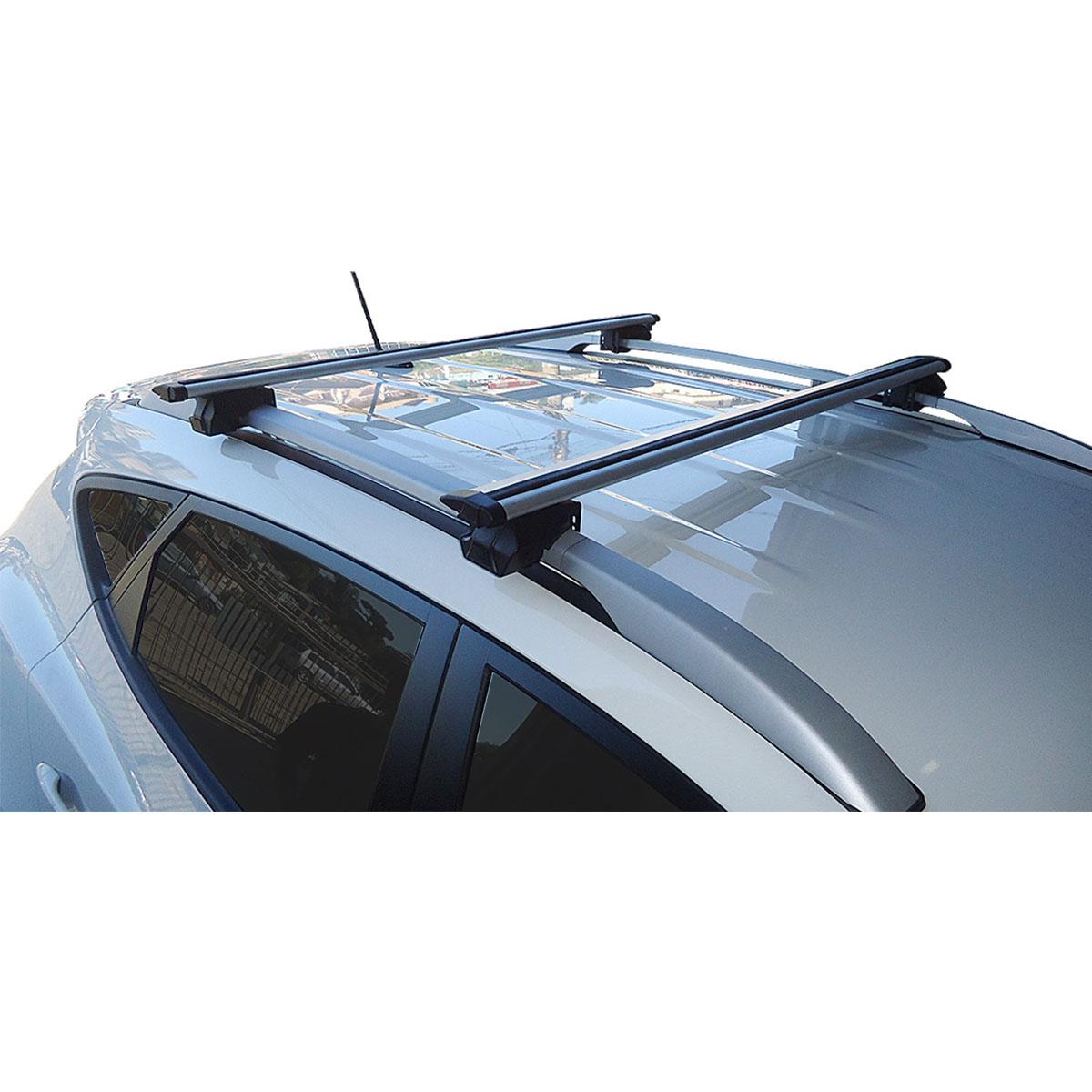 Travessa rack de teto Procargo Palio Weekend 1997 a 2017 com trava de segurança