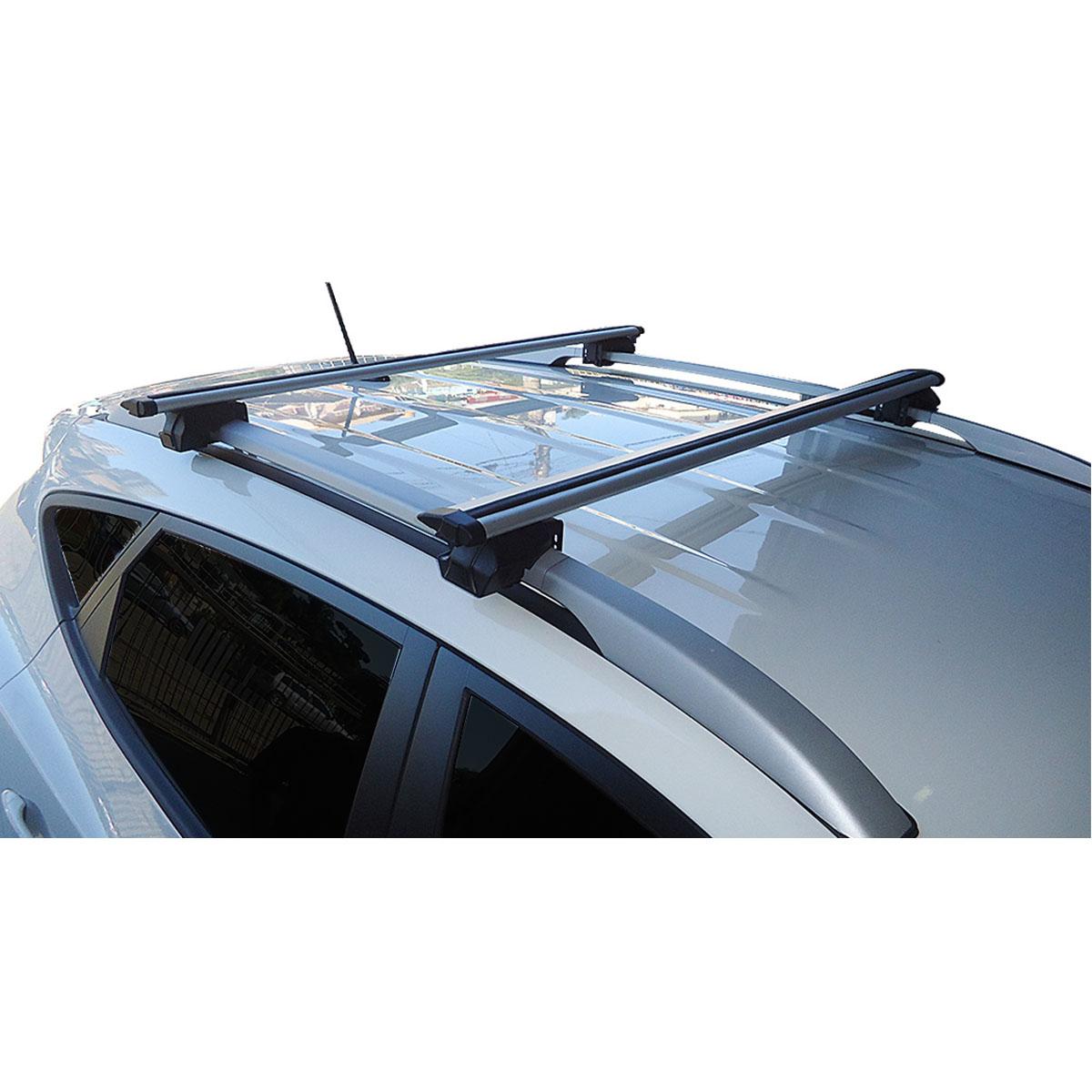Travessa rack de teto Procargo RAV4 2006 a 2012 com trava de segurança