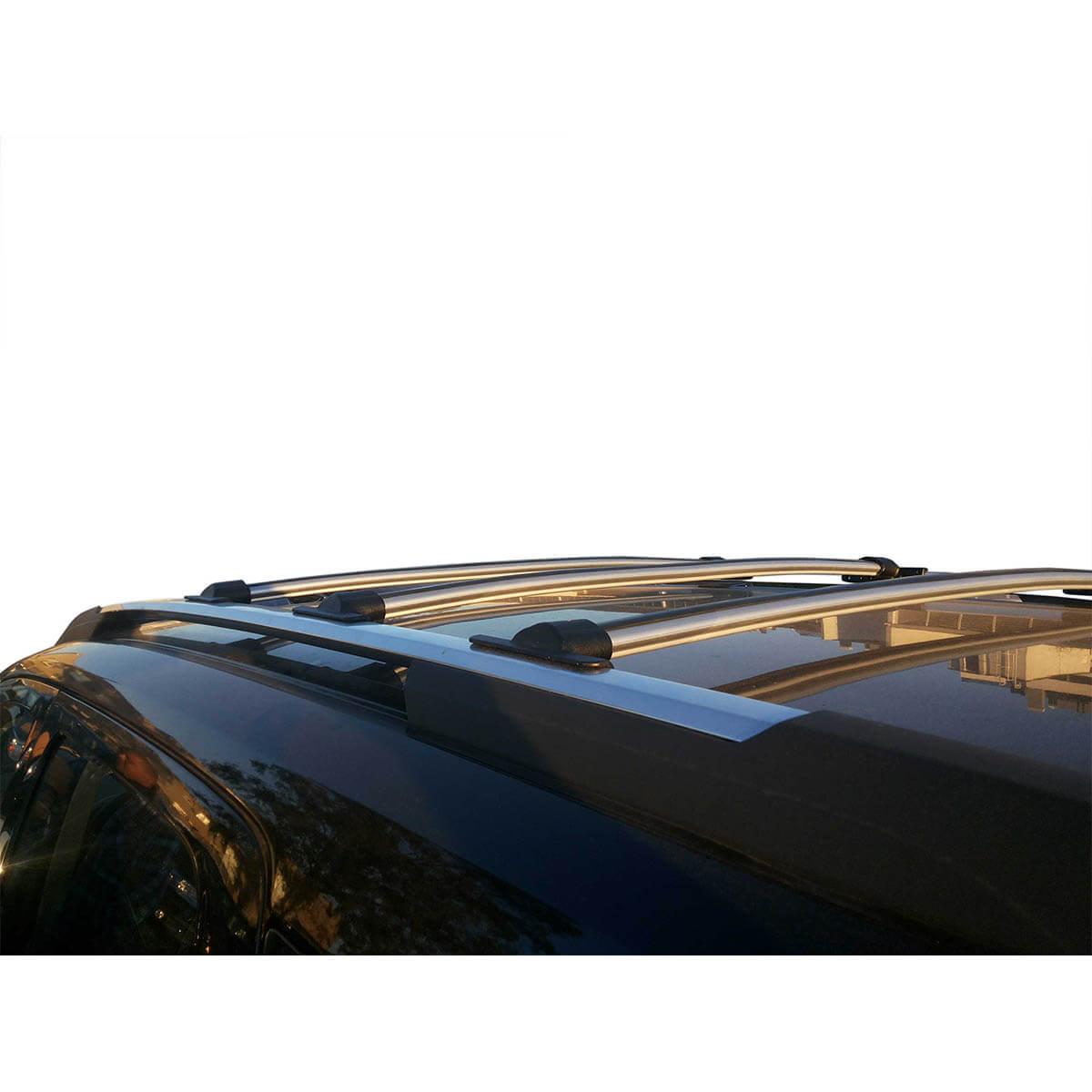 Travessa rack de teto Spin 2013 a 2018 fixação original kit 3 peças