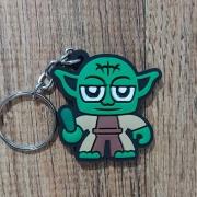 Caveiro Borracha - Yoda