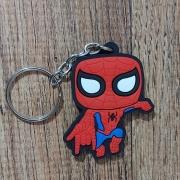 Chaveiro Borracha -  Homem Aranha