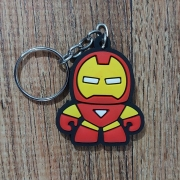 Chaveiro Borracha -  Homem de Ferro