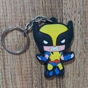 Chaveiro Borracha -  Wolverine