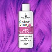Mascara Pigmentante Color Vibe - Lilás Sonho de Sereia 100ml