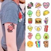 Tattoo Temporária Capivariana - Desenhos fofinhos