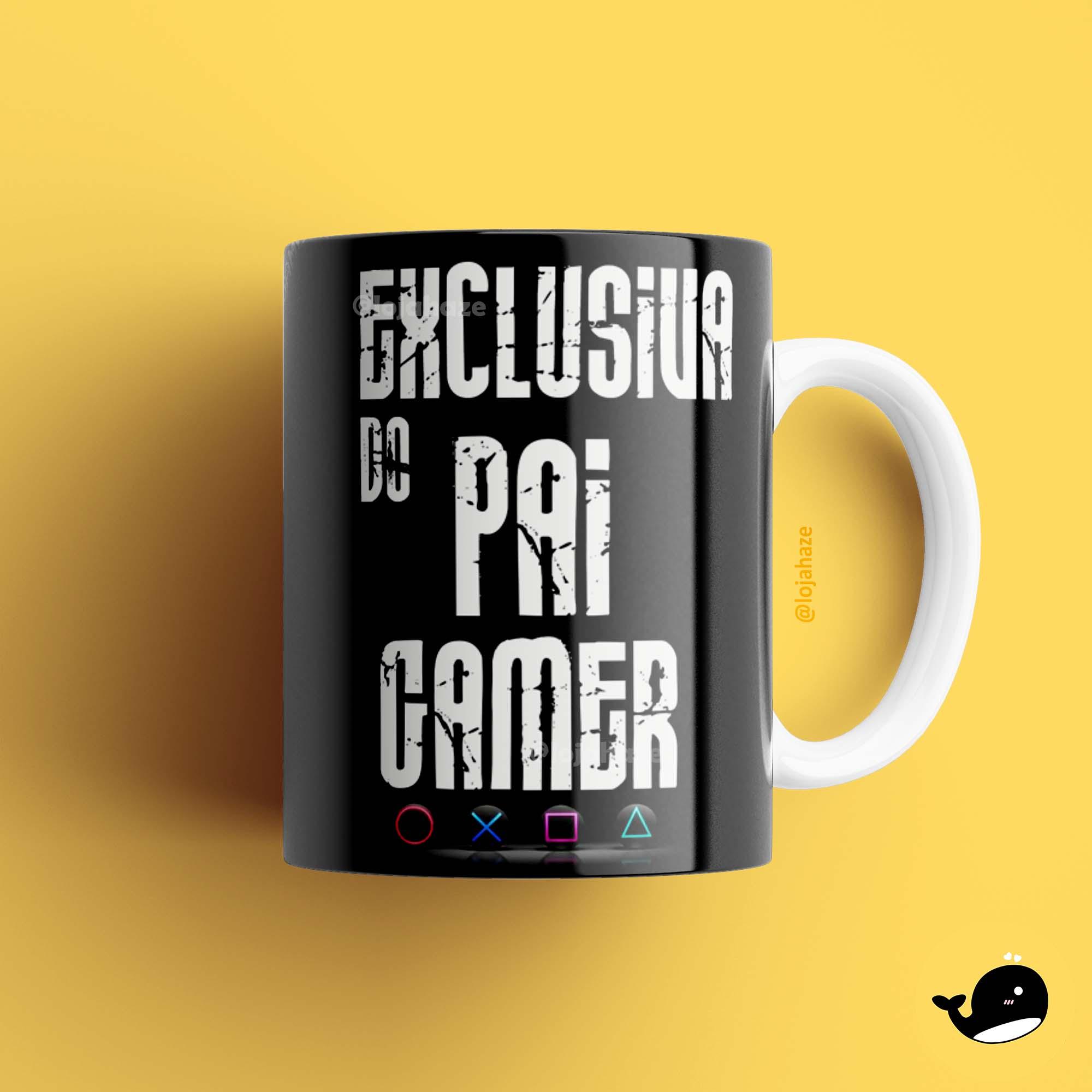 Caneca - Exclusiva do pai gamer