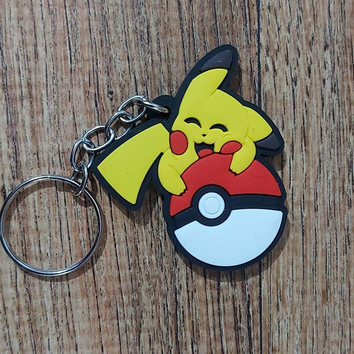Caveiro Borracha - Pokebola Pikachu (Pokemon)