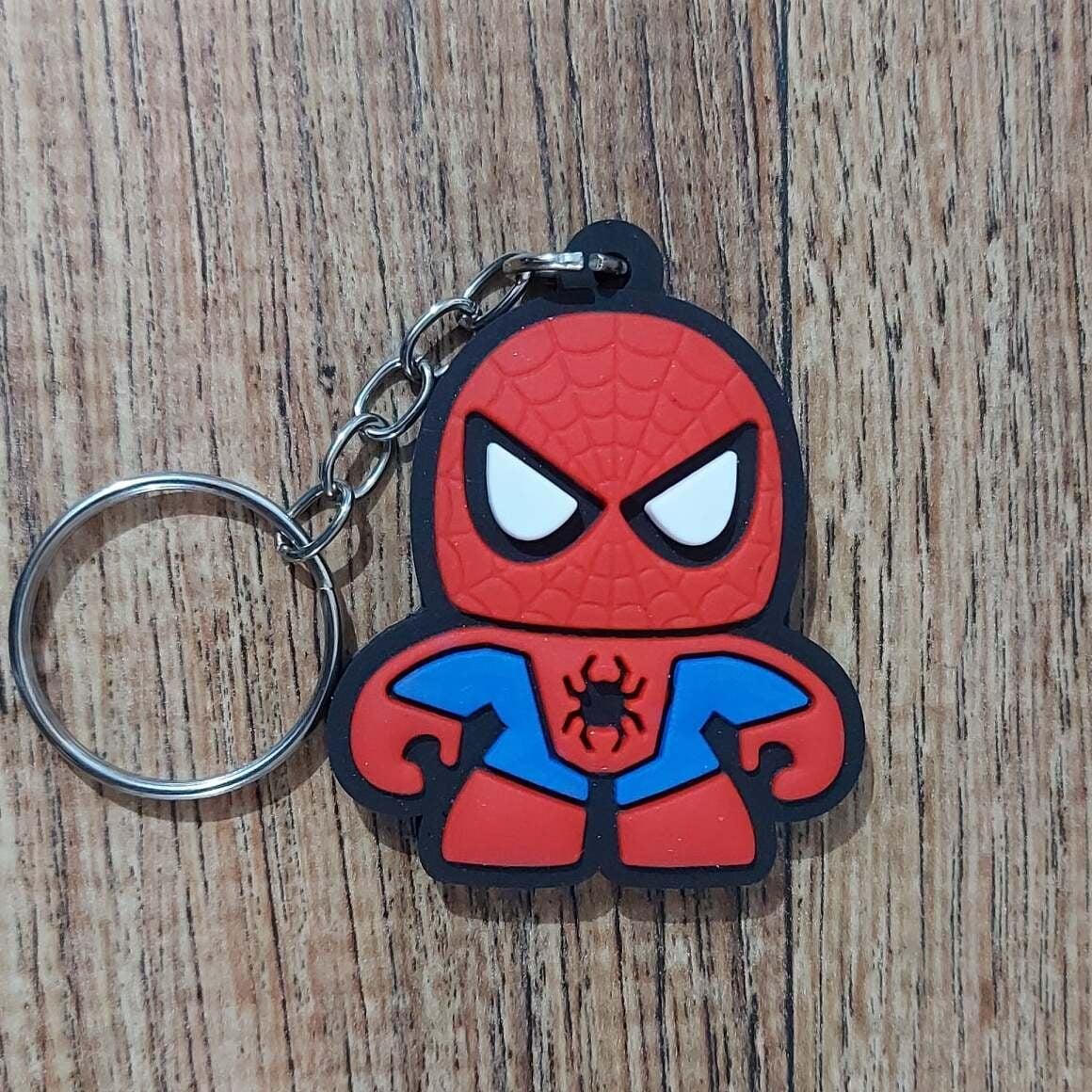 Chaveiro Borracha -  Homem Aranha 2